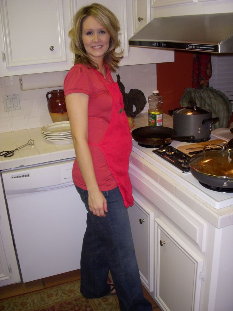 Kiss the cook...especially when she cooks enchiladas