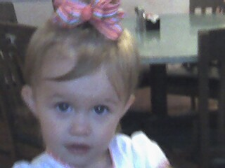 Mimi made new bows