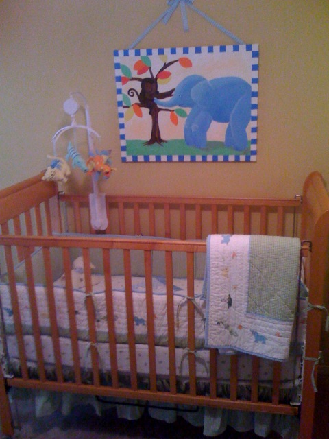 1st look at Seth's room